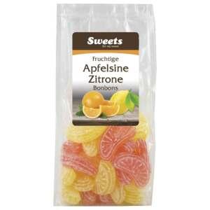 Apfelsine und Zitronen Bonbons 150g - Odenwälder