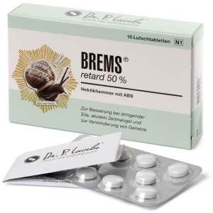 Brems retard 50% Tabletten/Lutschbonbons - Dr. P. Lacebo