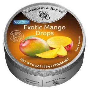 Cavendish & Harvey Sugar Free Exotic Mango 175g - Cavendish & Harvey