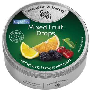 Cavendish & Harvey Sugar Free Mixed Fruit 175g - Cavendish & Harvey