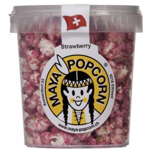 Maya Popcorn Strawberry 100g - Maya Popcorn